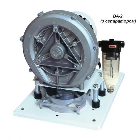Відсмоктуючий агрегат  ВА-2 з сепаратором