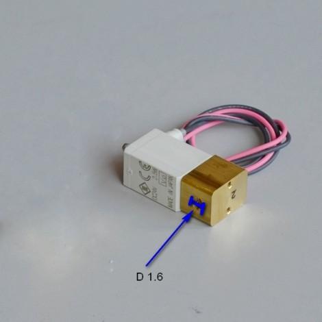 Електромагнітний клапан Ø1,6