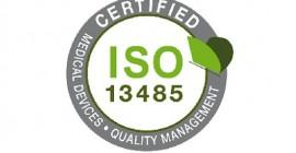 Міжнародний сертифікат управління якістю ISO 13485:2015